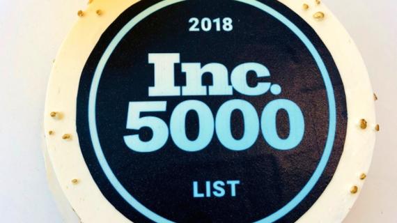 Inc 5000 cake.
