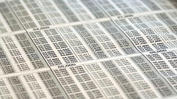 Tax bracket table