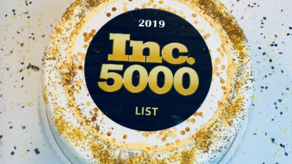 Inc. 5000 cake.